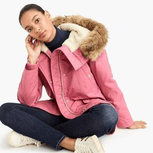 J. Crew Perfect winter parka with eco-friendly